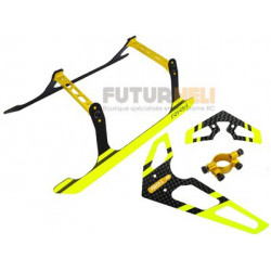 set patin + empennage Jaune option blade 300X-300CFX