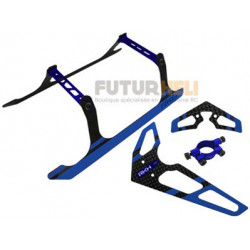 set patin + empennage bleu option blade 300X-300CFX