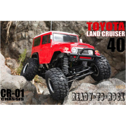 Tamiya Toyota Land Cruiser Crawler CR-01