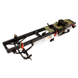 Chassis camion 1/14eme +traverse avant