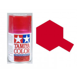 PS37  Tamiya rouge translucide pour Lexan 100ml