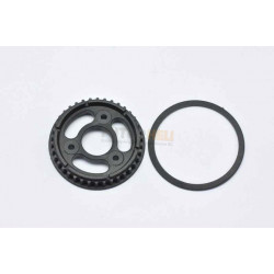 Pully solid Axle 38T Serpent 401359