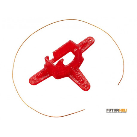 Support camera FPV 10 degrés Rouge