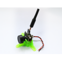 Support camera FPV 10 degrés vert Rakonheli 3DP001-G