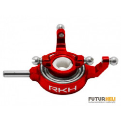 Plateau cyclique alu rouge Blade MSR-x-s Option Rakonheli