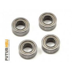 Roulements 5x10x4 HP (x4)  Kyosho BRG001