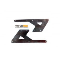 Chassis Carbone E550 Raptor PV0071