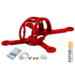 Chassis Alu rouge 2inch Emax baby Hawk