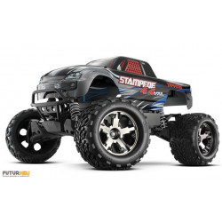 Stampede 4x4 VXL gris brushless 1/10 eme ID