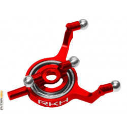 Plateau cyclique alu rouge blade 70S option Rakonheli