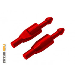 Blade 70S support cabine alu rouge Option Rakonheli