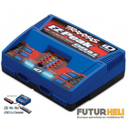 Traxxas Chargeur ID Duo 100W 8A Lipo/NimH