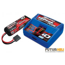 Traxxas Pack 1xbatterie 3S 4000 mAh + Chargeur 2970G
