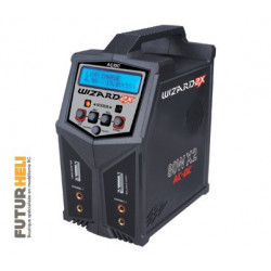 Chargeur double Wizard  80w 12/220v