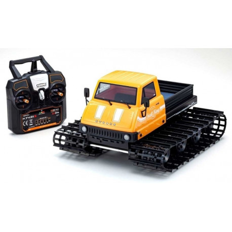 Kyosho Trail King 1/12eme jaune  complet + Radio + batterie + chargeur 34903T1B