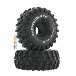 "Duratrax Showdown CR 1.9"" pneus crawler C3 (2)"