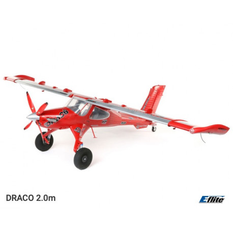 DRACO 2.0m Smart BNF + AS3X + Safe