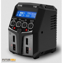 Chargeur Duo T100 220v 2/4S lipo-Nimh-Life-Lihv