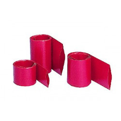 Gaine Thermorétractable 65 mm rouge 1M - Graupner