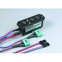 85063 Safety Switch LiPo TwinBatt Multiplex