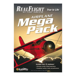 Mega Pack Avion pour RealFlight G6