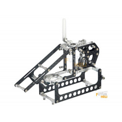Option chassis Carbone /Alu pour blade 130x Microheli