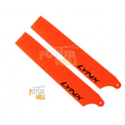 "Option pales Orange ""Lynx Heli "" 85mm Pour blade  Nano Cpx"