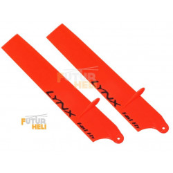 "Option Pales vitesse 85 mm  Orange pour blade Nano CPX ""lynx heli """